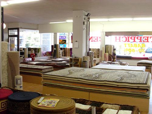 class teppichcenter teppiche bodenbel ge bettwaren. Black Bedroom Furniture Sets. Home Design Ideas