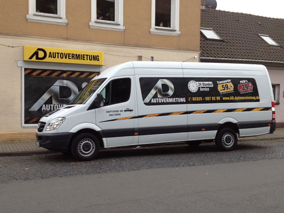ad autovermietung lkw transporter bus anh nger vermietung in herne nrw. Black Bedroom Furniture Sets. Home Design Ideas